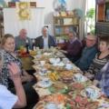 Глава администрации и депутаты п. Садового поздравляют Совет ветеранов с праздником