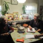 Встреча со старожилами села