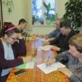 День родного языка. Читатели выполняют задания теста