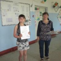 """Каргина Анна, участник конкурса """"Читаем Симонова"""""""